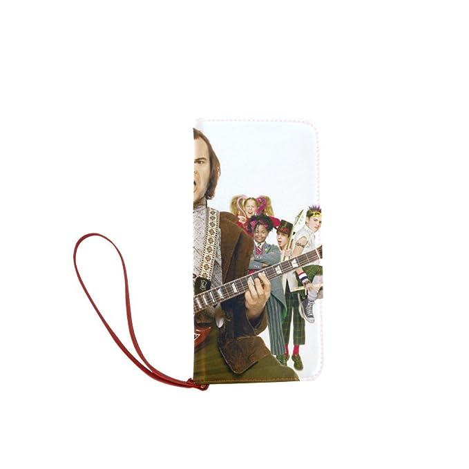 sljd personalizados de las mujeres escuela de Rock musical Princeton cartera larga monedero del embrague: Amazon.es: Ropa y accesorios