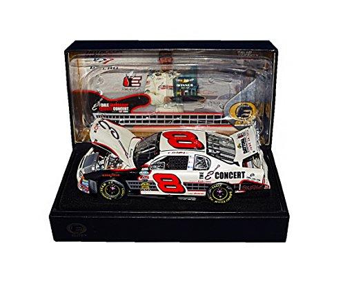 Dale Sr Earnhardt Race (AUTOGRAPHED 2003 Dale Earnhardt Jr. #8 E Concert Dale Sr Tribute TALLADEGA RACE WIN (Raced Version) Busch Series Signed RCCA Elite 1/24 NASCAR Diecast Car with COA (#0719 of only 1,008 produced!))