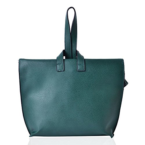 Bag Teal 5x6 Green Cm 24x19 TJC Removable with Adjustable Crossbody Strap 54xzq6gO