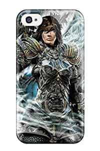 Awesome The Ultimate Warrior Flip Case With Fashion Design For Iphone 4/4s