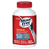Move Free Advanced Plus MSM and Vitamin D3, 120 tablets - Joint Health Supplement with Glucosamine and Chondroitin
