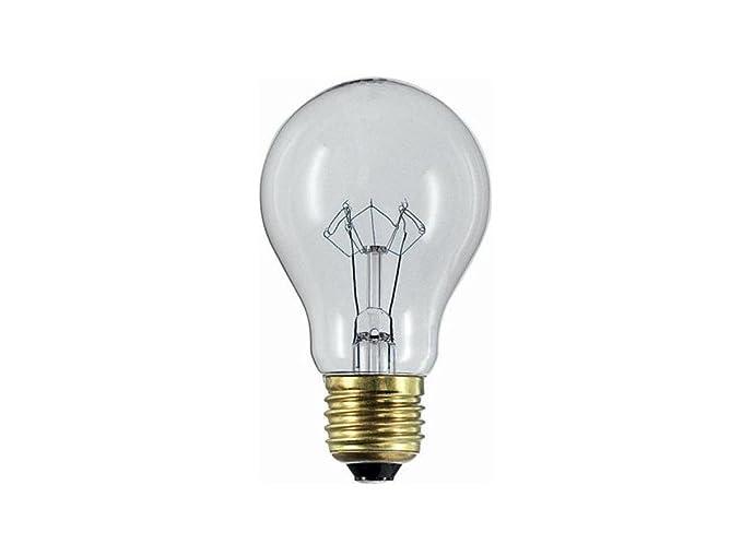Lampada incandescenza goccia chiara e v w bassa tensione