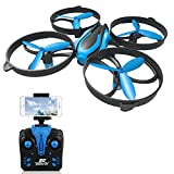 RCtown Drone with Camera Live Video, ELF II HW Mini WIFI FPV Drone for Kids, Headless Mode 3D 360° Flips & Rolls RC Quadcopter