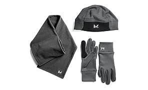Mission Women's RadiantActive Performance Beanie/Scarf/Glove Set