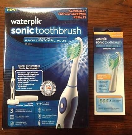 Nuevo Waterpik Sensonic – Cepillo de dientes sr-3000 W cartucho de repuesto cabezales de