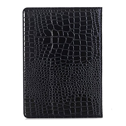iPad Case for ipad Air 2, Vacio Luxury Book Style PU Leather Folio Stylish Stand Case Cover for ipad Air 2 (Black) by Vacio (Image #6)
