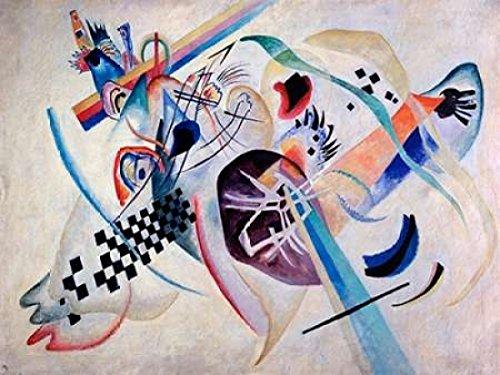 Wassily Kandinsky Artwork - Posterazzi Composition N. 224 On the white Poster Print by Wassily Kandinsky (11 x 14)