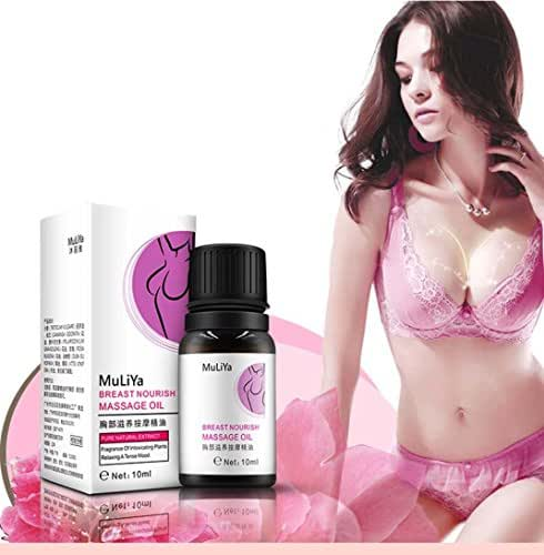 Lotus.Flower Herbal&Floral Breast Enhancement Must up Firming Enlargement Bust Butt Essential Oil l Chest Lift up (10ml)