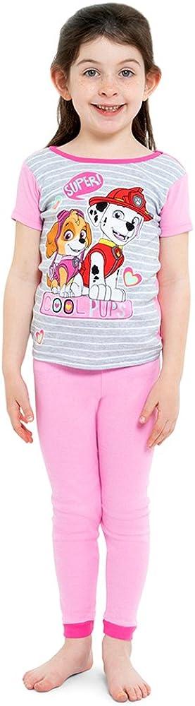Paw Patrol Cute Pups Toddler Girl Short Sleeve Shirt /& Pants Pajamas New 3T