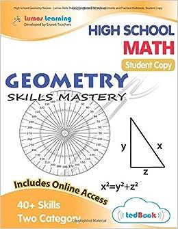 High School Geometry Review - Lumos Skills Mastery tedBook: Online