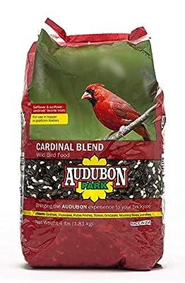 Aududon Park 12231 Cardinal Blend Wild Bird Food, 4-Pounds