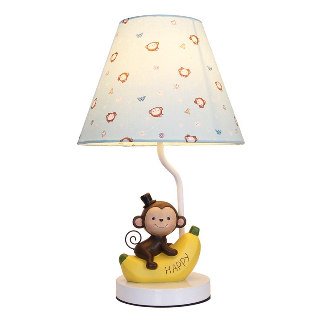 Uncle Sam Sam Uncle LI - Creativo Monkey Cartoon Lámpara de Mesa Lámpara de Resina Lámpara de Paño de Tela Lámpara de Cabecera de Dormitorio d63824