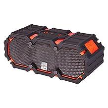 Altec Lansing iMW575 Life Jacket Floating Waterproof Bluetooth Wireless Speaker, Red