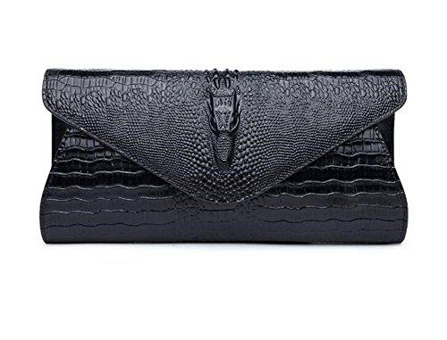 Party Crocodile Evening Pattern Handbag Leather NVBAO Bags Shoulder Faux Dress Wedding Clutch Women SqwHFA