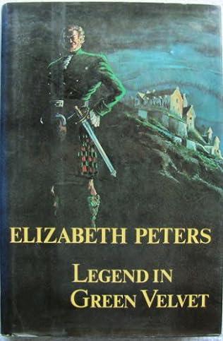book cover of The Legend in Green Velvet