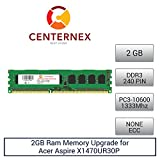 2GB RAM Memory for Acer Aspire X1470UR30P (DDR310600 NonECC) Desktop Memory Upgrade by US Seller