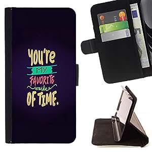 Momo Phone Case / Flip Funda de Cuero Case Cover - Amour Valentines doux - Samsung Galaxy Note 3 III