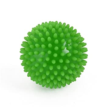 grofitness 3 Bola de rodillo de masaje con pinchos (perfecto para ...