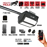 Mighty Mule MM9545M 9000 Series Garage Door Opener Black