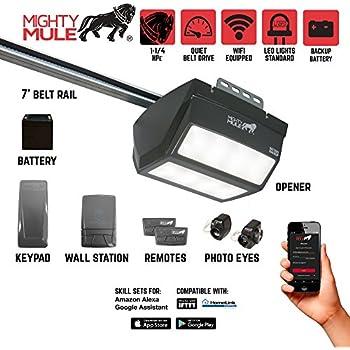 Mighty Mule Mm9434k 9000 Series Garage Door Opener 1 Hpe