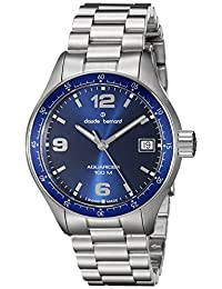 Claude Bernard Men's 70169 3B BUIN Analog Display Swiss Quartz Silver Watch