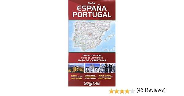 Mapa de Carreteras de España y Portugal MAPAS DE CARRETERAS ...