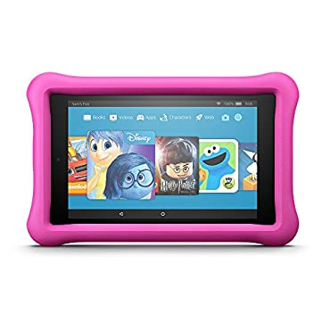 Fire HD 8 Kids Edition Tablet, 32 GB, Pink Kid-Proof Case