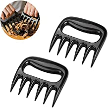 EaseTech Bear Claw Meat Shredders Easily Lift, Handle, Shred, and Cut Meats - Essential for BBQ Pros BPA FREE Set of 2.
