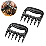claws meat shredder - EaseTech Bear Claw Meat Shredders Easily Lift, Handle, Shred, and Cut Meats - Essential for BBQ Pros BPA FREE Set of 2.