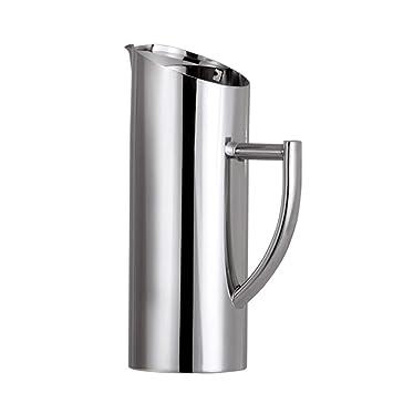 SJQ-coffee pot Tetera de Café de Acero Inoxidable 304 Condensada Cafetera EléCtrica para Viajes
