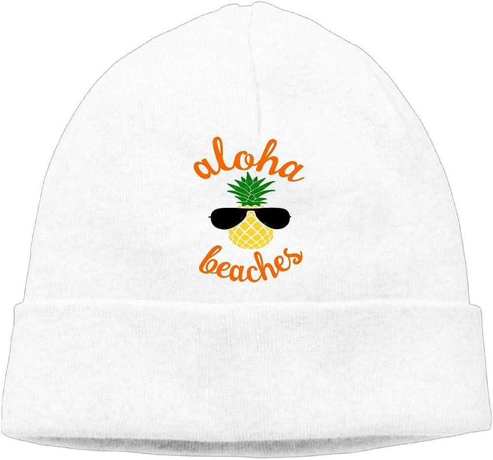 GDSG5/&4 Aloha Beaches Pine Hawaii Unisex Sweat Wicking Sports Beanie Skull Cap