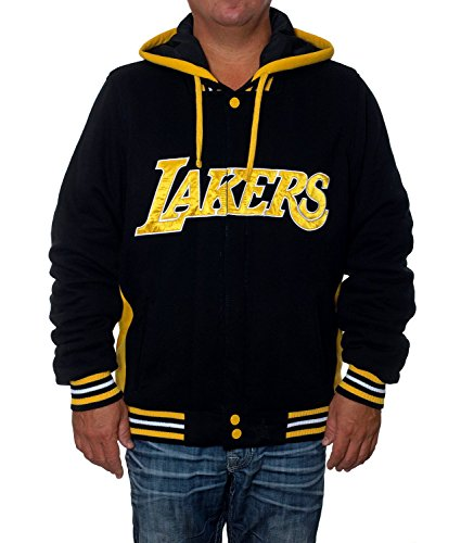 Los Angeles Lakers Reversible Fleece Jacket (XXL)