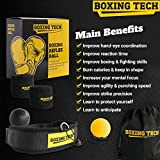 Boxing Reflex Ball Headband Set - Punching Ball on