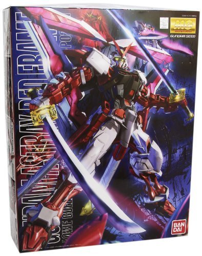 Bandai Hobby MG Gundam Kai Model Kit (1/100 Scale), Astray Red Frame by Bandai Hobby