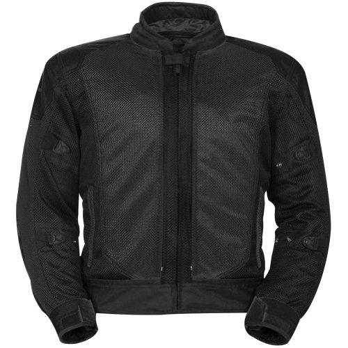 Tourmaster Flex Series 3 Motorcycle Jacket Small (Size 38) Black