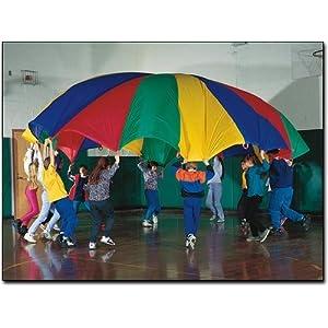 20' Rainbow Play Parachute