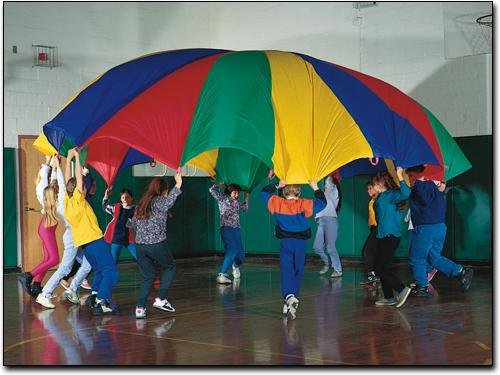 20' Rainbow Play Parachute