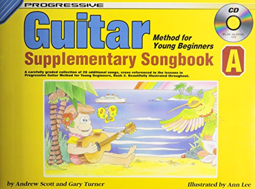 Progressive Guitar Method for Young Beginners Supplementary Songbook A with CD