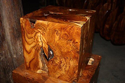 Tikimaster Teak Root Pedestal/Stand 12