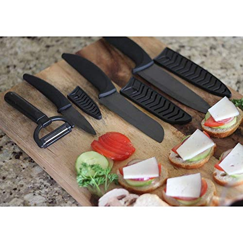Miracle Blade World Class Series Black 7-piece Ceramic Knife Set