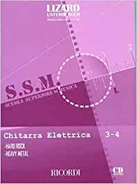 Chitarra elettrica: hard rock e heavy metal - guitare +cd