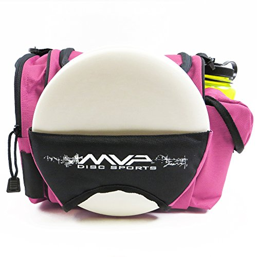 Oversize Golf Bag - MVP Disc Sports MVP Beaker Competition Disc Golf Bag - Pink