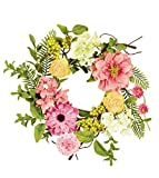 Sullivans 8'' Mixed Flowers and Berries Wreath