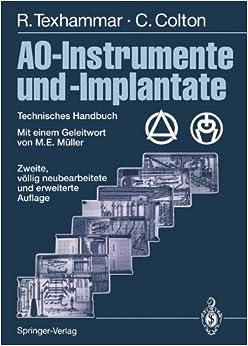 Book AO-Instrumente und -Implantate: Technisches Handbuch