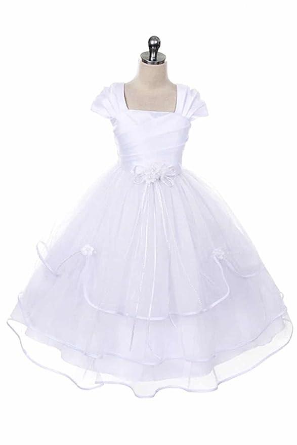 Amazon.com: Girls First Communion Dress - Baptism Holy Communion ...