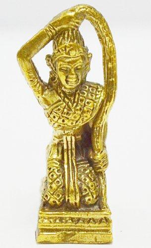 Thai Magic Pendants Mother Earth Buddha Miracle Maker Real Thai Mini Amulet Thailand Nice Lucky ()