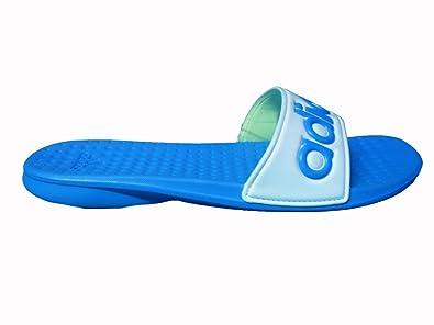 blaue adidas badelatschen