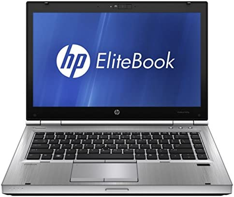 HP Elitebook 8470p Laptop - Core i5 3320m 2.6ghz - 8GB DDR3 - 128GB SSD - DVDRW - Windows 10 64bit - (Renewed)
