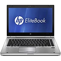 HP Elitebook 8470p Laptop WEBCAM - Core i5 2.6ghz - 8GB DDR3 - 320GB HDD - DVDRW - Windows 10 64bit - (Certified Refurbished)