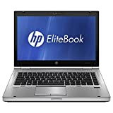 HP EliteBook 8470P 14' Notebook PC - Intel Core i5-3320M 2.6GHz 8GB 320GB DVD Windows 10 Professional (Certified Refurbished)